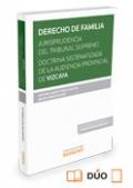 DERECHO DE FAMILIA. Jurisp. del TS. y A. Provincial  Vizcaya