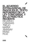 El Acuerdo Extrajudicial de Pagos en el Texto Refundido de la Le