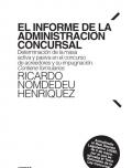 El informe de la administración concursal