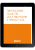 Formularios registro de la propiedad y mercantiles (e-book)
